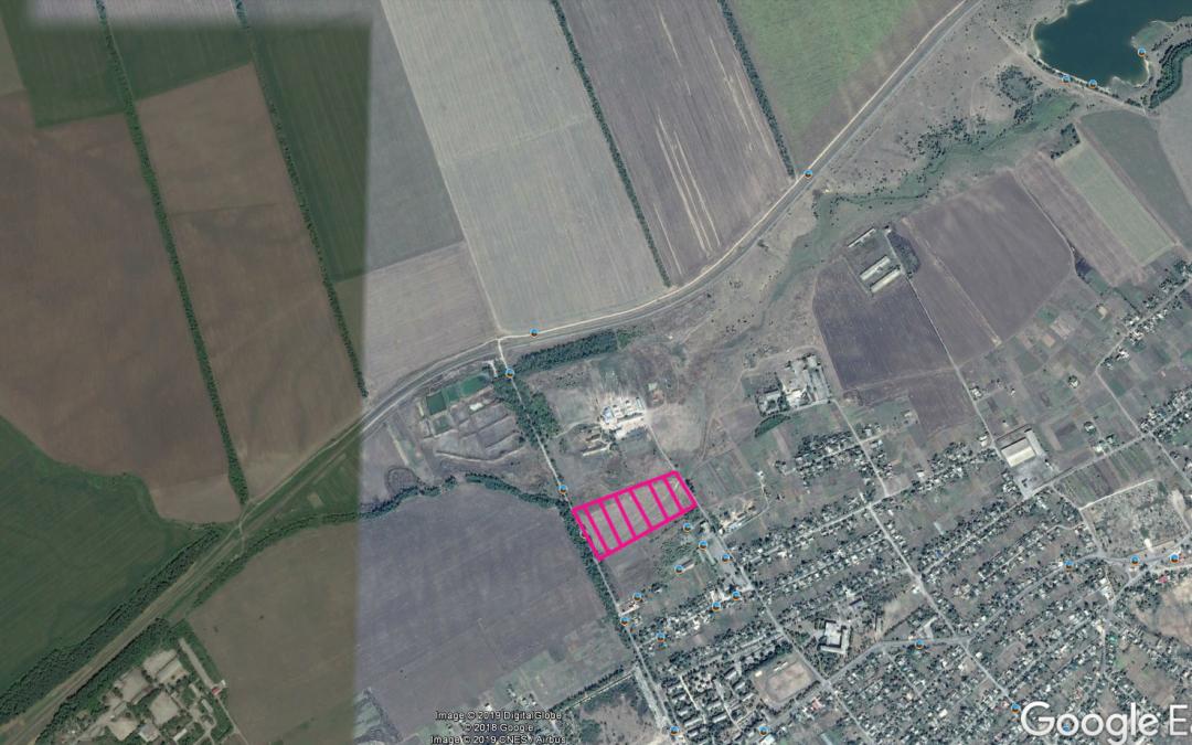 Інвестиційна земельна ділянка для розміщення підприємств з переробки сільськогосподарської продукції