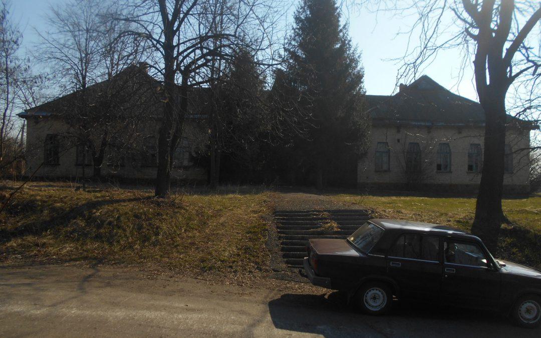 Приміщення школи в с. Пішки Корсунь-Шевченківського району Черкаської області